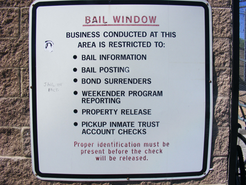 Las Vegas Jail Inmates - Bail Window Rules