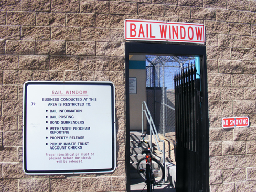Las Vegas Jail Inmates - Bail Window