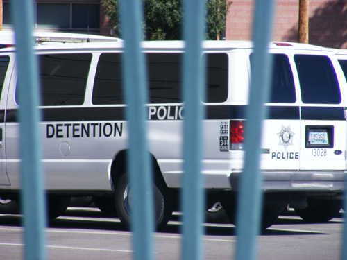 Las Vegas Jail Inmates - Detention and Enforcement Van
