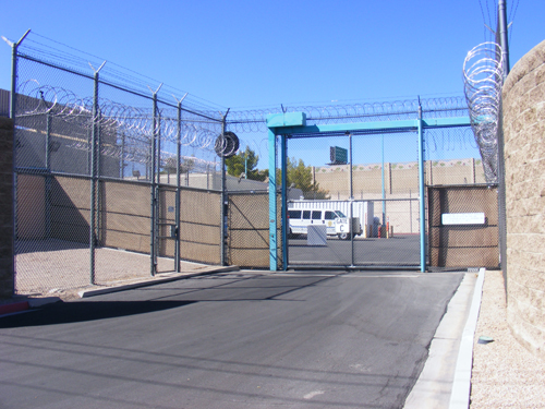Las Vegas Jail Inmates - Entrance Gate C