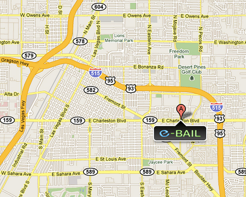 All Star Las Vegas Bail Bonds Location