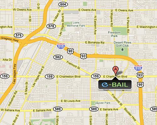 All Star Las Vegas Bail Bonds Location