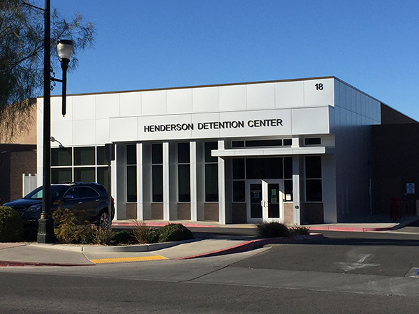 Henderson Bail Bonds for the Henderson Detention Center